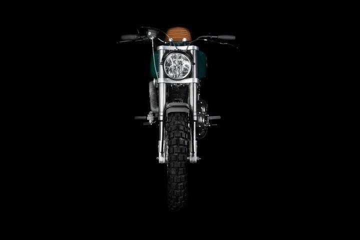 99 Harley Sportster front end