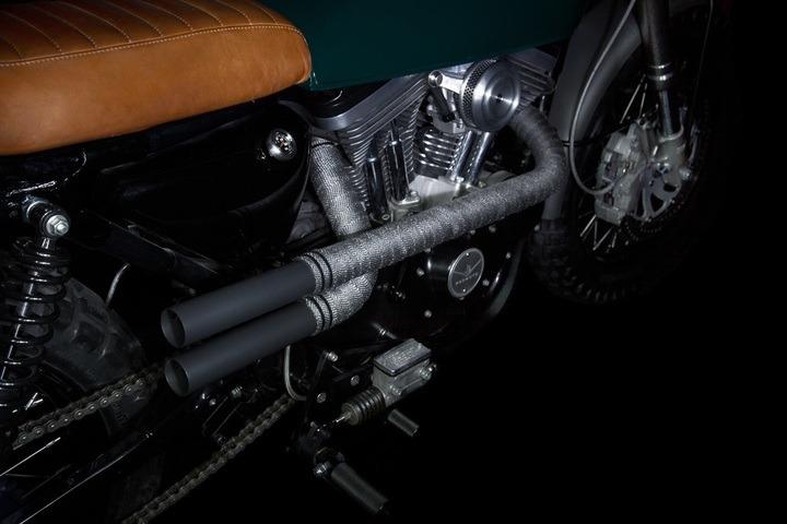 Harley Davidson Sportster retro style