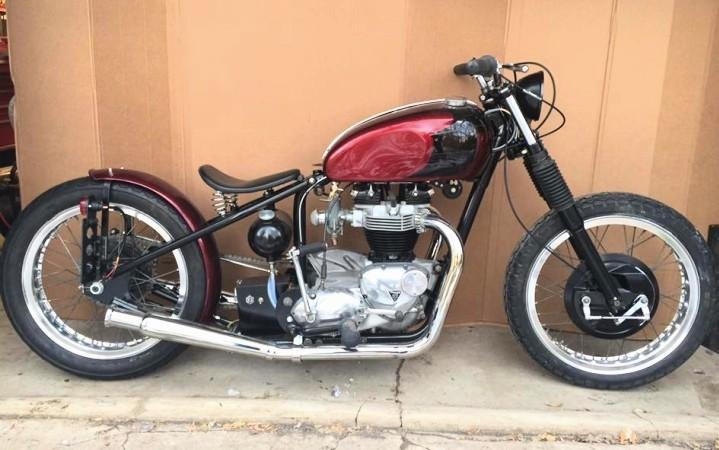 66 Triumph bobber