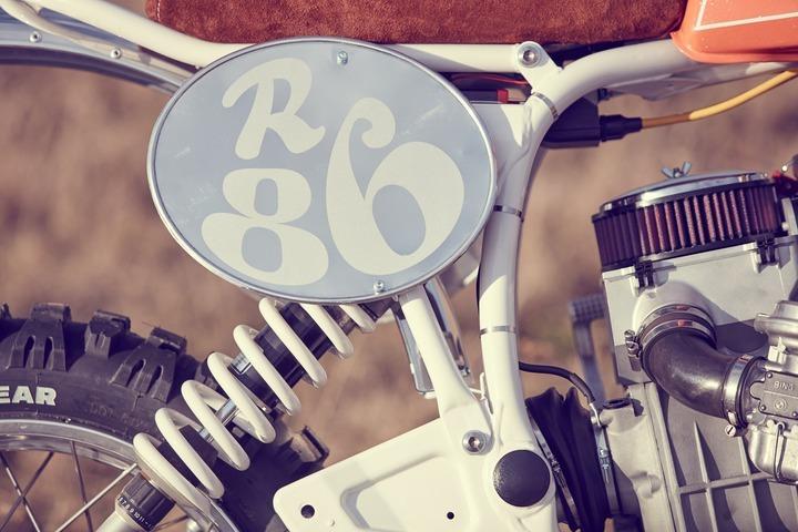 enduro number plate
