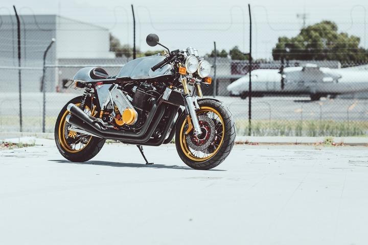 Honda CB750 Cafe Racer by Mick Page