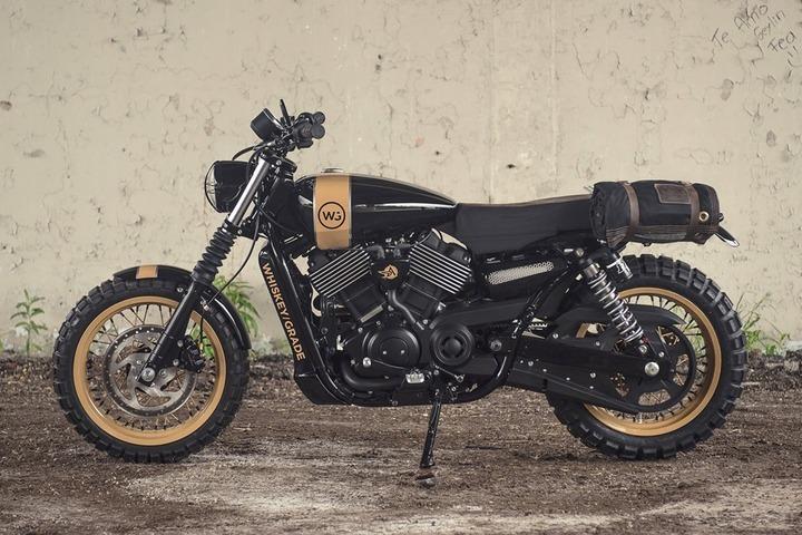 Harley-Davidson Steet 750 by Analog Motorcycles