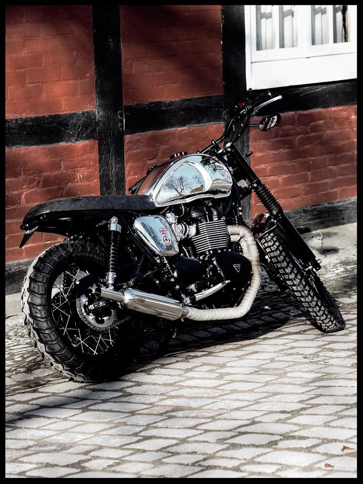 Triumph T100 Bratstyle