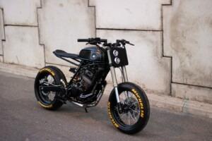 Honda custom bike by Lucky Custom
